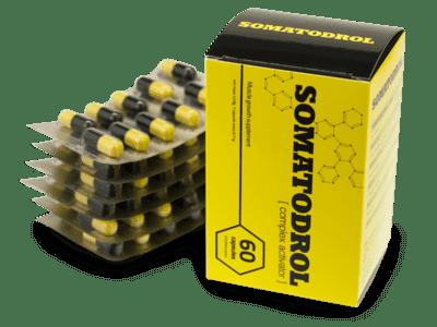 suplemento dietético Somatodrol cómo funciona, críticas, fabricante, farmacia